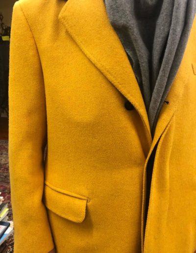 Caraceni Milano | Cappotto giallo invernale